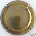Champagne capsule 14.c Or-bronze et gris