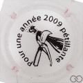 Champagne capsule 3.ac Opalis, blanc, 2009