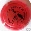 Champagne capsule 3.aa Opalis, rouge, 2009