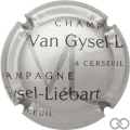 Champagne capsule A1 Argent et noir