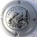 Champagne capsule 5 Argent et noir