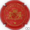 Champagne capsule 13 Rouge et or
