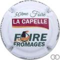 Champagne capsule 33 50ème Foire La Capelle
