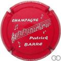 Champagne capsule 8 Rouge et  blanc