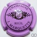 Champagne capsule 16.f Mauve et noir