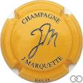 Champagne capsule 18.l Jaune-orangé et noir