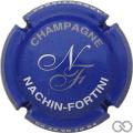 Champagne capsule 2.e Bleu, or et blanc