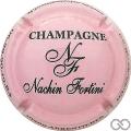 Champagne capsule 1 Rose et noir
