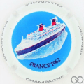 Champagne capsule 6 France 1962