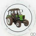 Champagne capsule 2.e 6/6 Tracteur