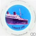Champagne capsule 6.d Liberté 1950