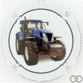 Champagne capsule 2.b 3/6 Tracteur