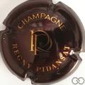 Champagne capsule  Bordeaux foncé et or