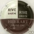 Champagne capsule 17.a Noir et crème, 2013