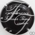 Champagne capsule 5.f Noir, gris et blanc