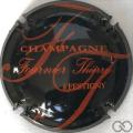 Champagne capsule 5.b Noir et orange