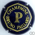 Champagne capsule 2 Bleu et or brillant