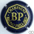 Champagne capsule 13 Bleu foncé et or brillant