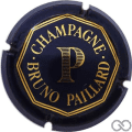 Champagne capsule 7 Jéroboam, bleu foncé
