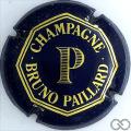 Champagne capsule 1 Bleu foncé et or
