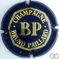 Champagne capsule 12 Bleu foncé et or