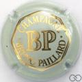 Champagne capsule 31 Vert très pâle et or