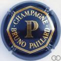 Champagne capsule 9 Nabuchodonosor, bleu foncé