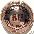 Champagne capsule 17 Rosé pâle et marron
