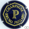 Champagne capsule 5 Bleu, P large