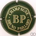Champagne capsule 14 Vert foncé et or
