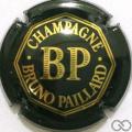 Champagne capsule 14.a Vert foncé et or vif