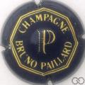 Champagne capsule 4 Bleu, rayures très fines