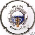 Champagne capsule 39.a Olivier, brevet n° 142