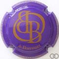 Champagne capsule 5.b Violet et marron