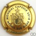 Champagne capsule 26.b Estampée or
