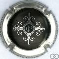 Champagne capsule 4 Noir, contour métal