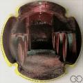 Champagne capsule A3.d Jéroboam, contour jaune