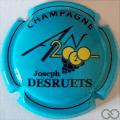 Champagne capsule 1112.k Jéroboam, an 2020, bleu ciel