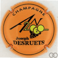 Champagne capsule 1112.f An 2020, orange