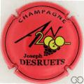 Champagne capsule 1112.g An 2020, rouge pâle