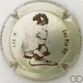 Champagne capsule 773.hd Pin'Up: gris métallisé