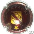 Champagne capsule 453.d Marron et or