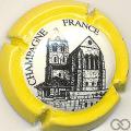Champagne capsule 804.a Contour jaune