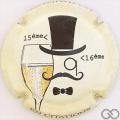 Champagne capsule 961.c Amélie Nothomb