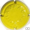 Champagne capsule 370.vh Jaune