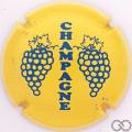 Champagne capsule C5.ha Jaune et bleu