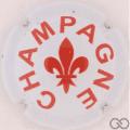 Champagne capsule A91 Blanc et bordeaux