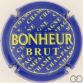 Champagne capsule 1101.b Bleu et jaune, Brut