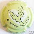 Champagne capsule 863.ac Fond vert pâle