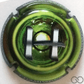 Champagne capsule 987.a Puzzle vert